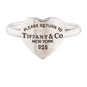 Return to Tiffany heart ring